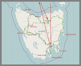 Tasmanstrecke